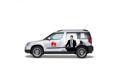 Huawei - polep auta