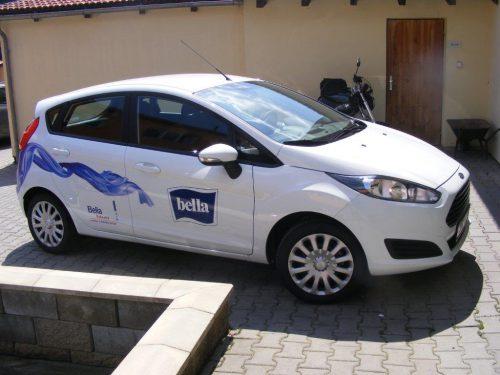 Bella Bohemia - polep automobilu