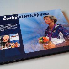 Český atletický svaz - propagační tiskový materiál