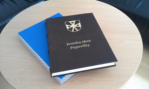 Obec Popovičky - obecní kronika