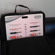 Prakab Pražská kabelovna - vzorkový kufřík