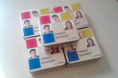 randstad - reklamní krabička